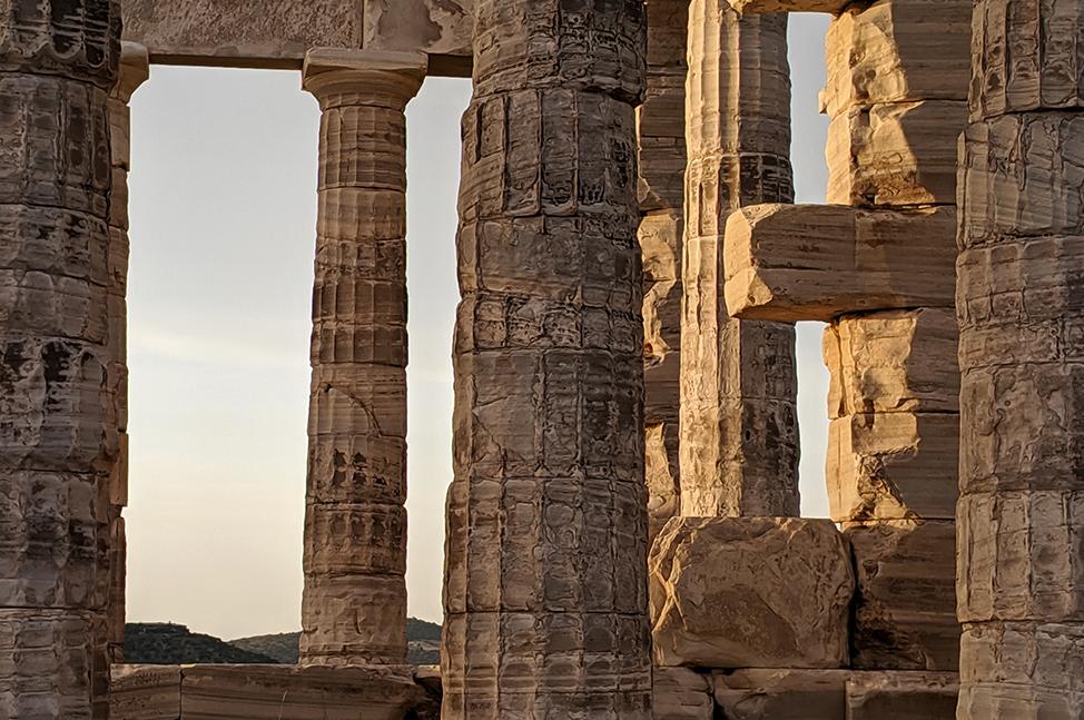 Solo Athens Temple of Poseidon
