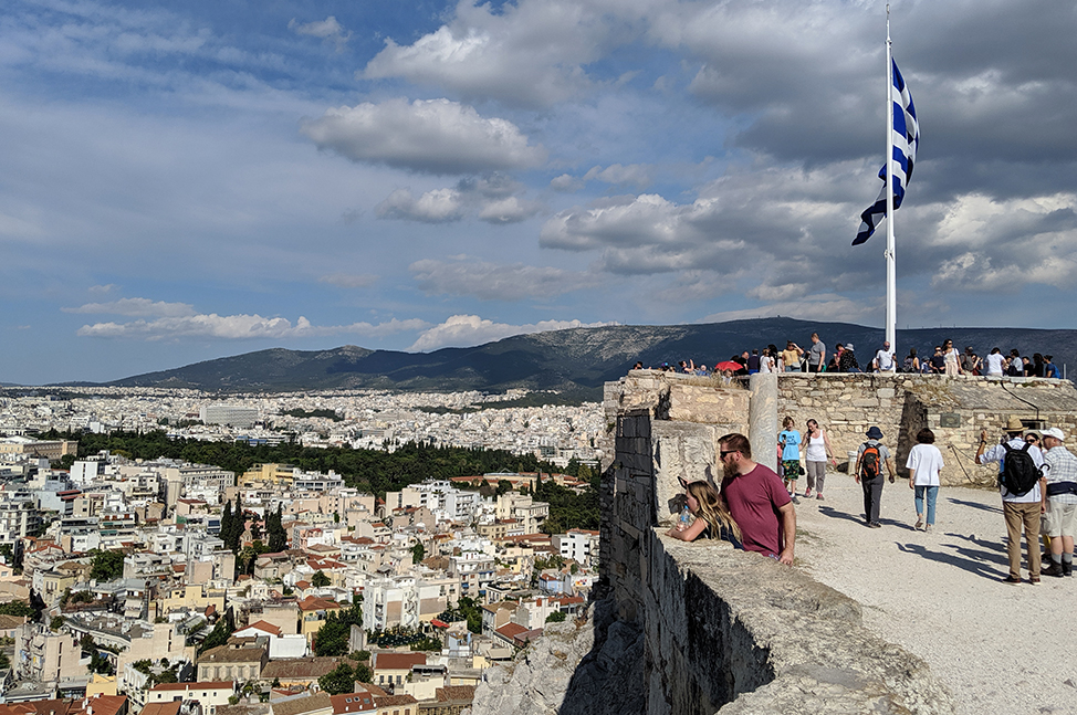 View from Acropolis