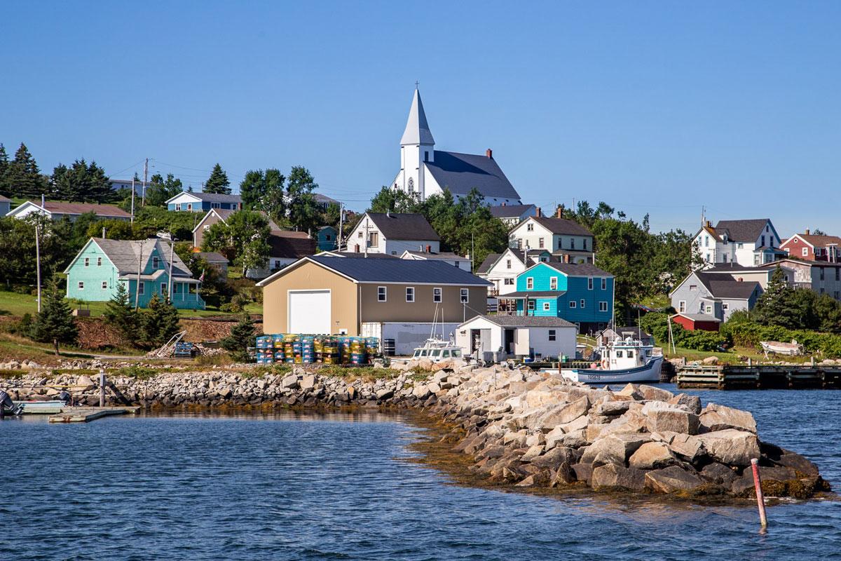 Canso eastern shore Nova Scotia