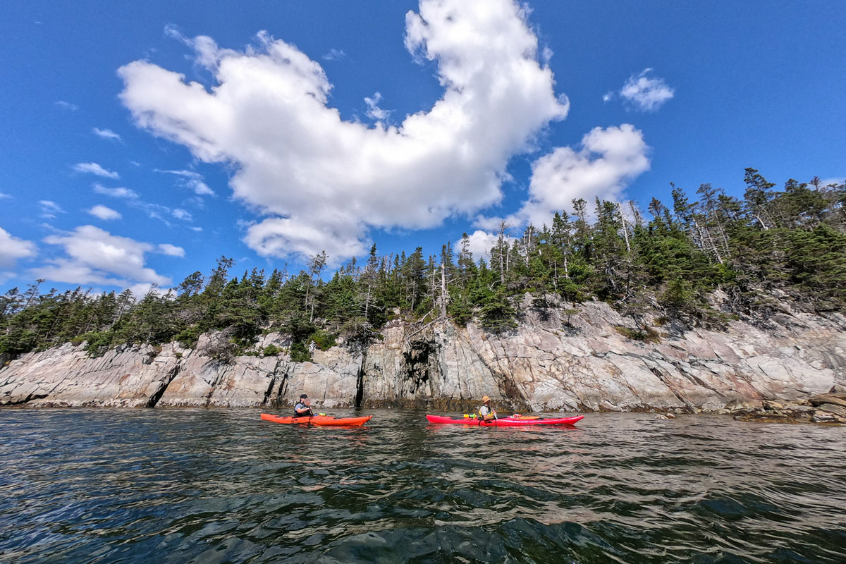 Kayaking on the Eastern Shore of Nova Scotia