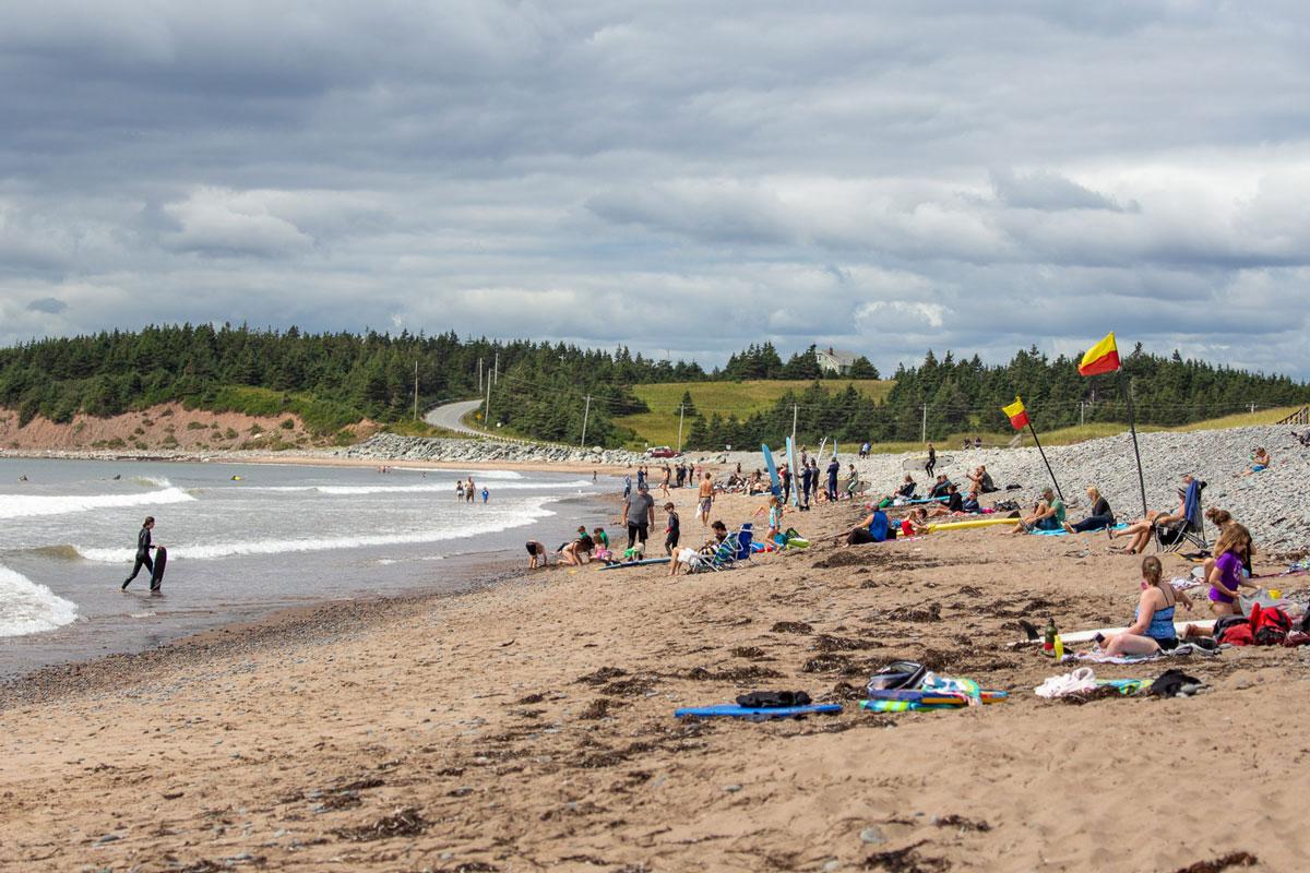 Lawrencetown Surf Eastern Shore Nova Scotia