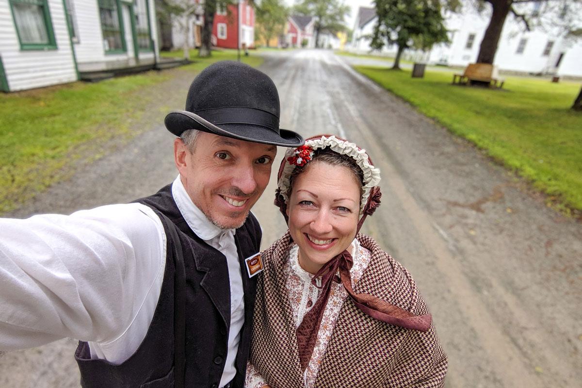 Sherbrooke Village Museum eastern shore Nova Scotia