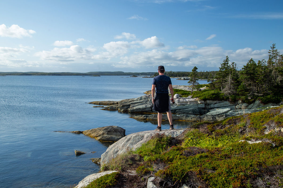 Taylor Head Provincial Park hike on Marine Drive