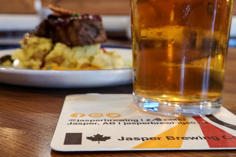 Elk Meatload and Beer Jasper Brewing