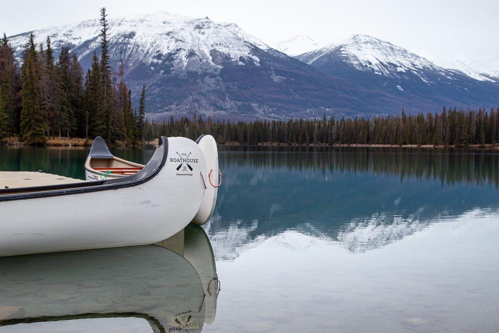 Jasper Park Lodge Lake Beauvert