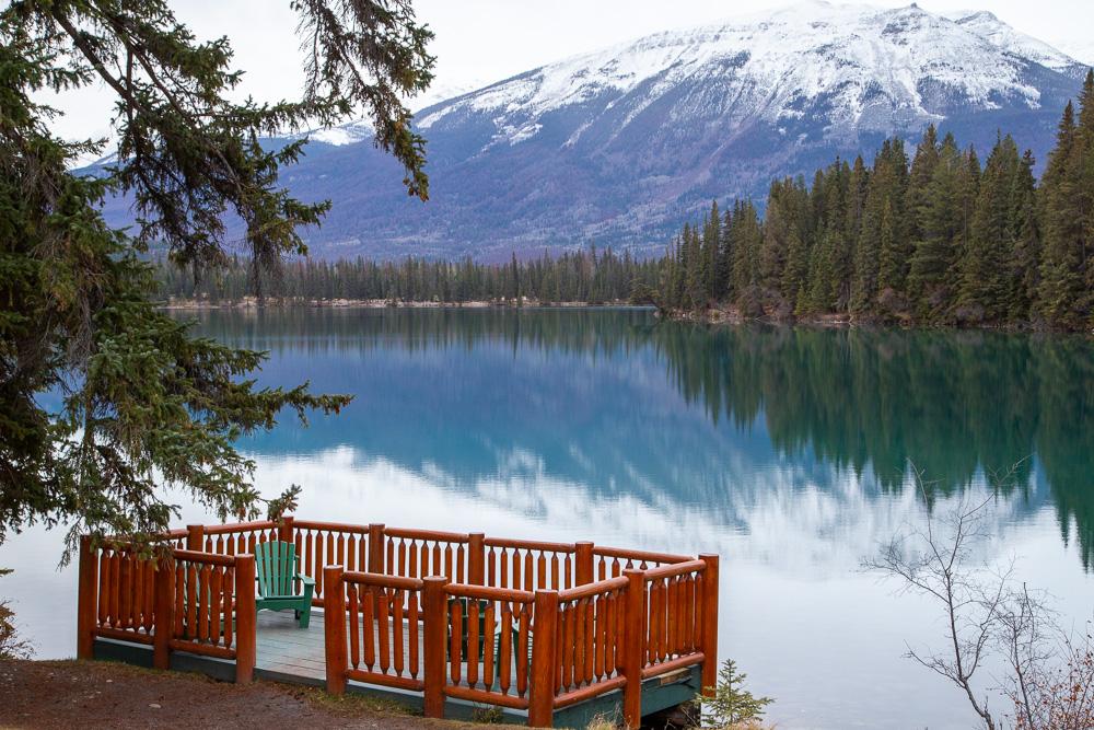 Jasper Park Lodge Scenery