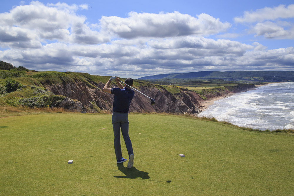 Golfing at Cabot Links Nova Scotia