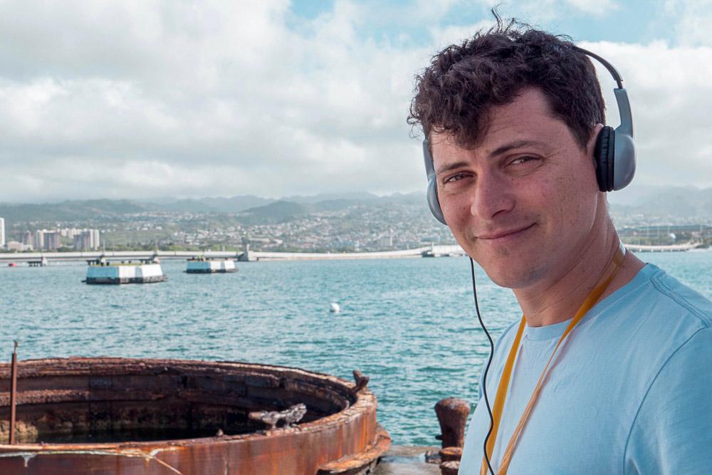 Matt Kepnes with Headphones