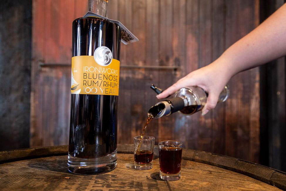 Ironworks Distillery Bluenose Rum